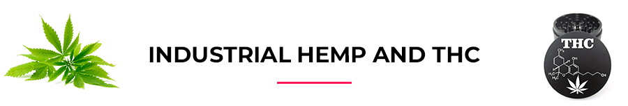 Industrial hemp and THC