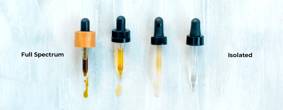Full spectrum vs Isolated CBD oil