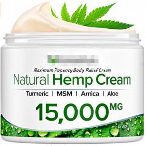 Natural hemp cream, 15 000 mg