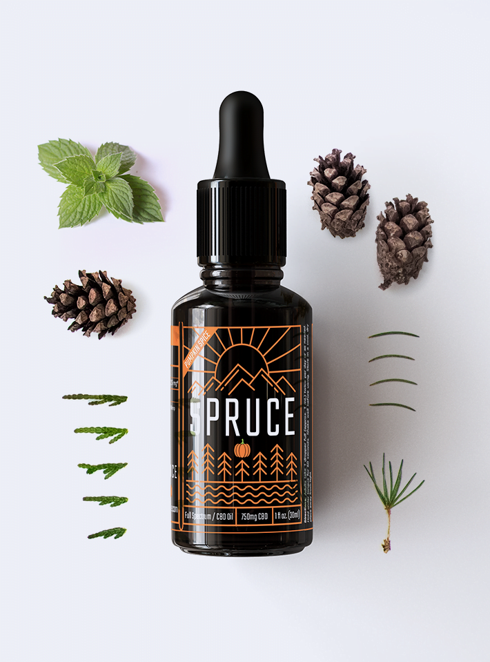 Photo of Pumpkin Spice 750mg CBD Oil - Small Batch Limited Release